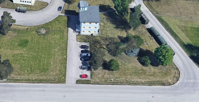 Auf Google Maps sieht der Welser Komandoturm aus wie dazumal.JPG